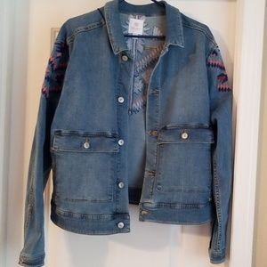 LuLaRoe Kenny Jean Jacket